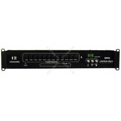 12 channel DMX switch pack