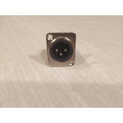 D3M 3-pin XLR Male KONEKTORS
