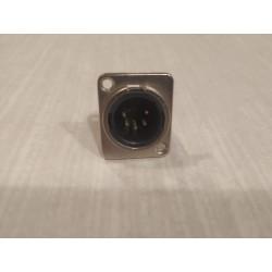D5F 5-PIN XLR KONEKTORS